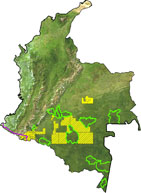 oil blocks in Colombia